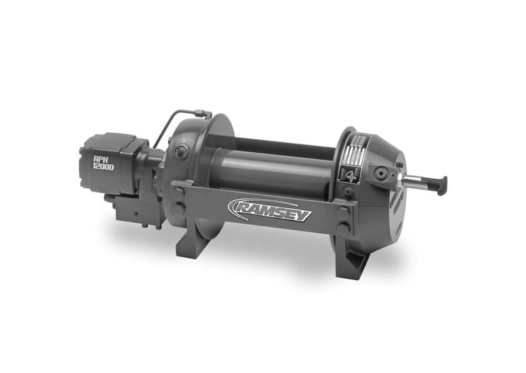 Hydraulic Worm Gear Winches : Rph ramsey winch be mighty