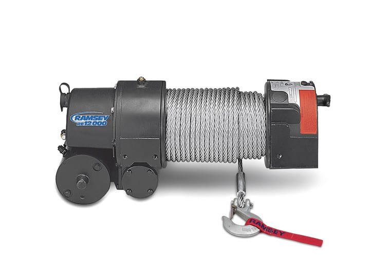 re12000r - ramsey winch - be mighty  ramsey winch
