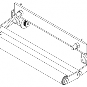 ROLLER TENSIONER KIT - (STANDARD DRUM) SERIES 400 (PN 256161)